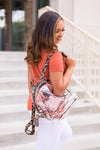 Clear Gameday Large Backpack- Cheetah