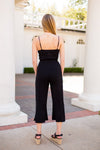 Laid Back at the Beach Jumpsuit - Black