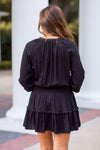 Harvest Time Dress - Black