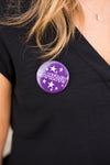 Gameday Button- Purple