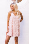 Froze All Day Dress - Peach