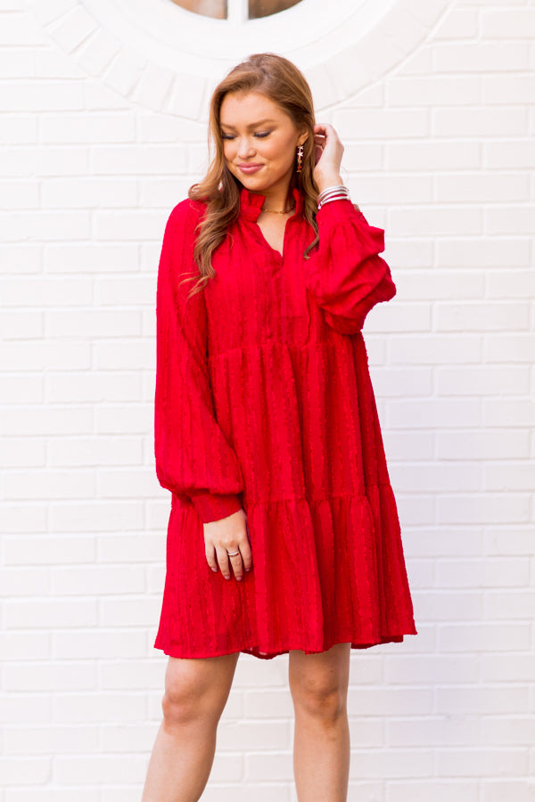 Sending My Love Dress - Red