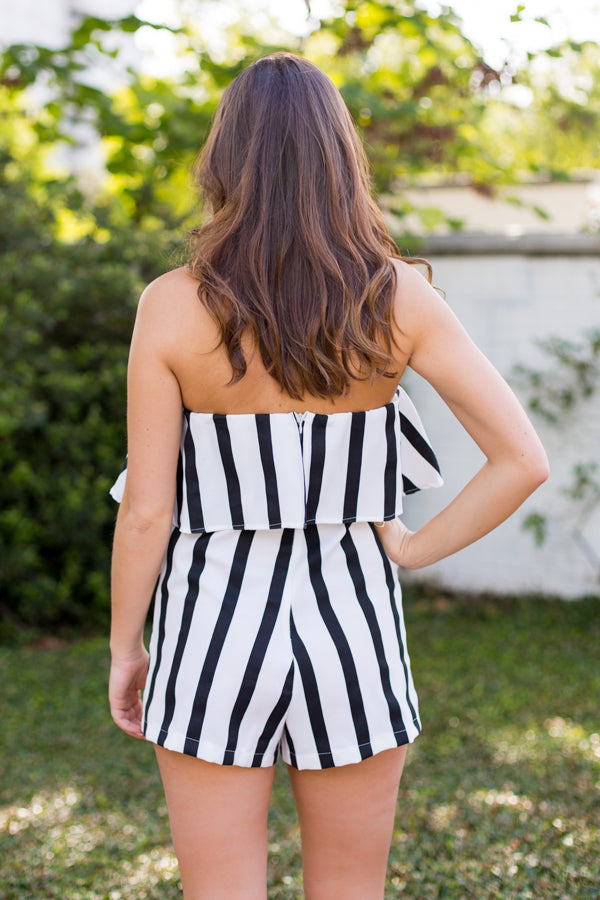 Referee Stripes Romper