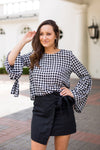 Gingham Go-Go Girl Top