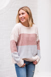 Sunset Sky Sweater - Clay