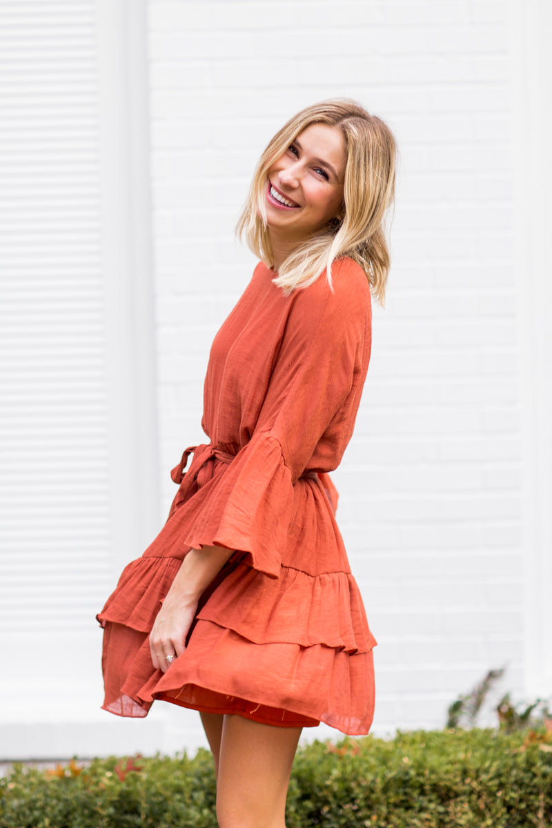 Sweet As Cinnamon Dress