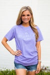 Established Pig Tee- Lilac