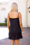 Into The Night Dress- Black