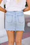 Pistola Denim Basinger Skirt- Light Wash
