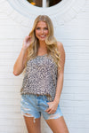 Feel The Love Tonight Top- Leopard