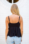 Take Me Anywhere Top- Black