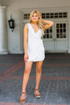 Amuse Society Jet Lag Mini Dress - Casa Blanca