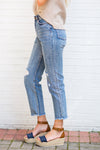 Amuse Society Selena Jeans- Worn Denim