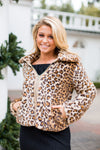 Born To Be Wild Jacket- Leopard