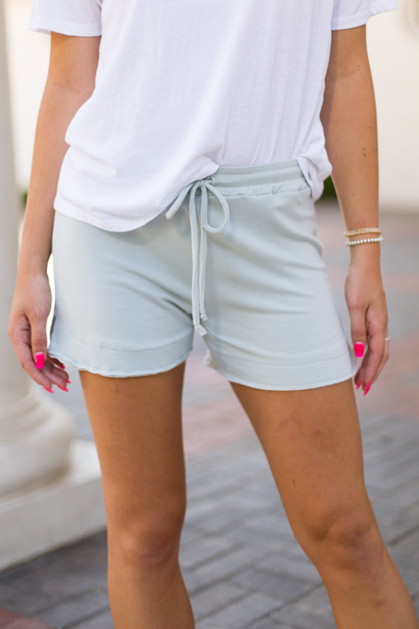 Softie Shorts- Blue Twilight
