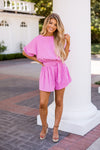 C'mon Barbie Romper- Candy Pink