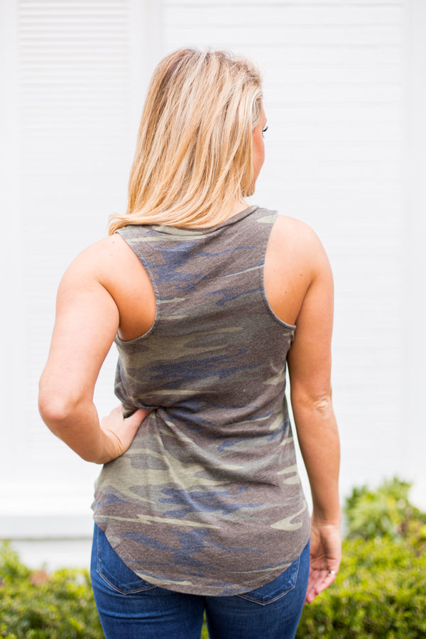 Z Supply Pocket Tank- Camo