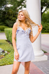 Call On Me Dress - Periwinkle