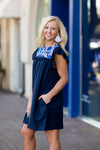 The Brooklyn Dress- Navy