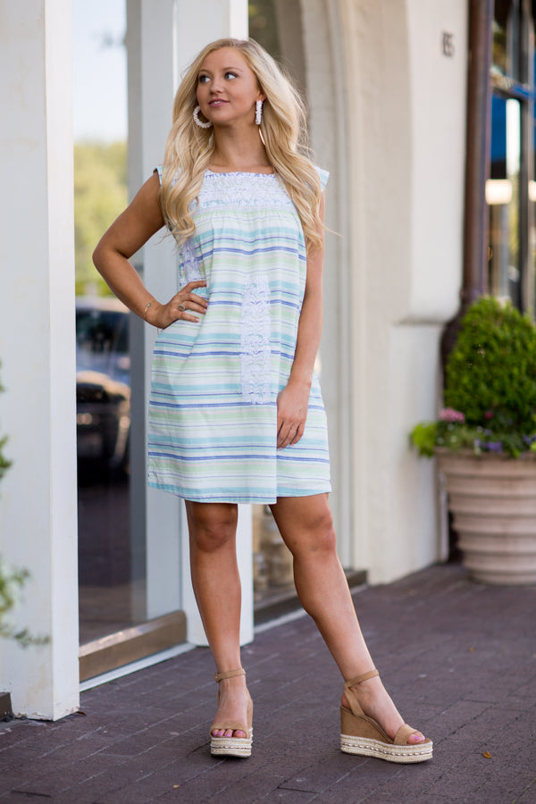 The Holly Dress- Mint