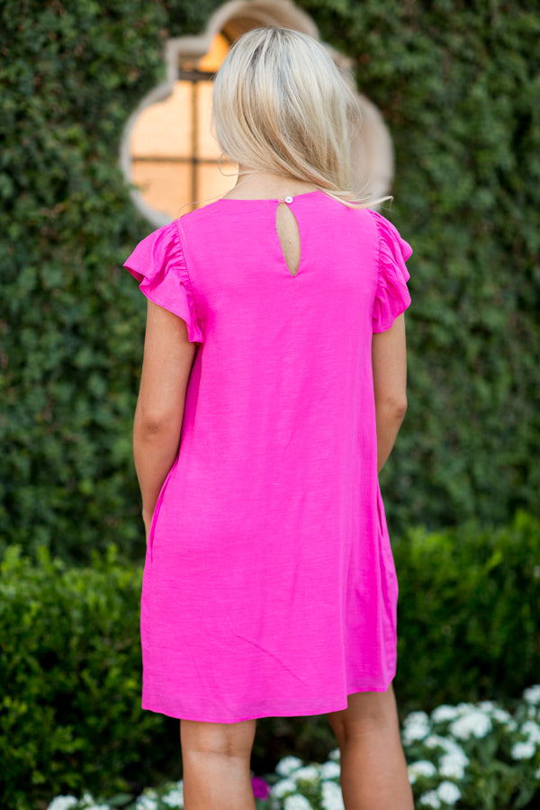 The Emmie Dress- Pink