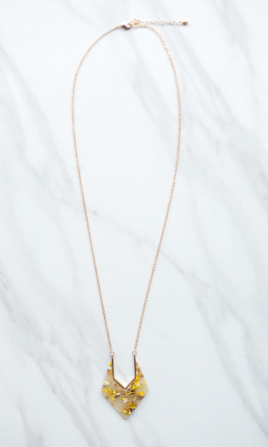 Vanessa Necklace- Tan