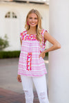 The Kate Top- Pink