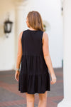 Starting Over Dress - Black