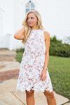 Sweet Sundays Dress- White