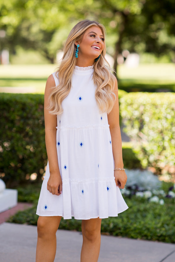 The Evelyn Dress- White