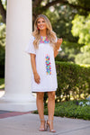 The Avery Dress - White