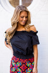 The Shelby Top- Black