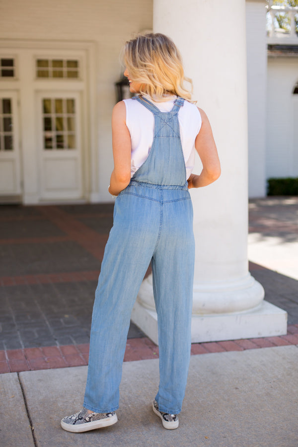 She's Country Overalls - Denim