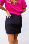 The Maya Skirt- Black