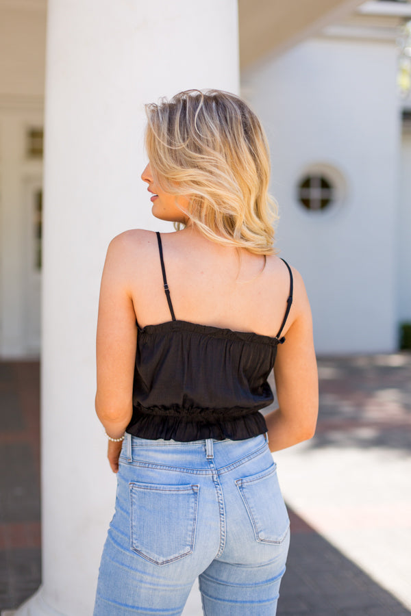 Out On The Town Top - Black