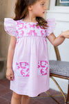 The Francie Baby Dress - Light Pink