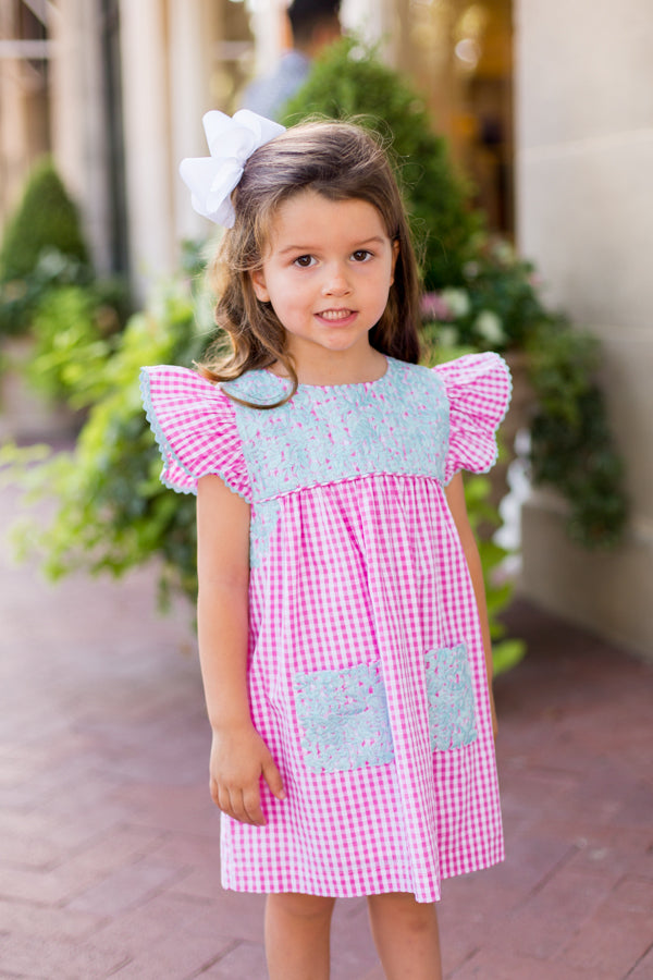 The Tiffany Baby Dress - Pink