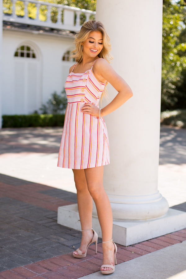Spring's The Thing Dress - Pink