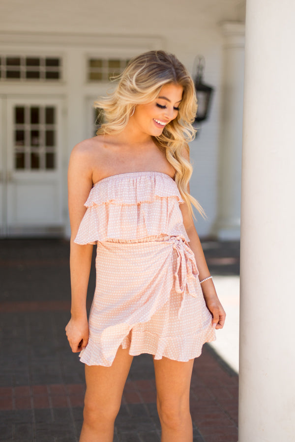 Pick Me First Dress - Pink