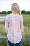Texas Tassels Embroidered Top
