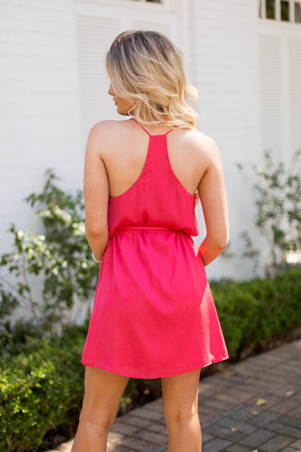 Summer Spritz Dress - Watermelon