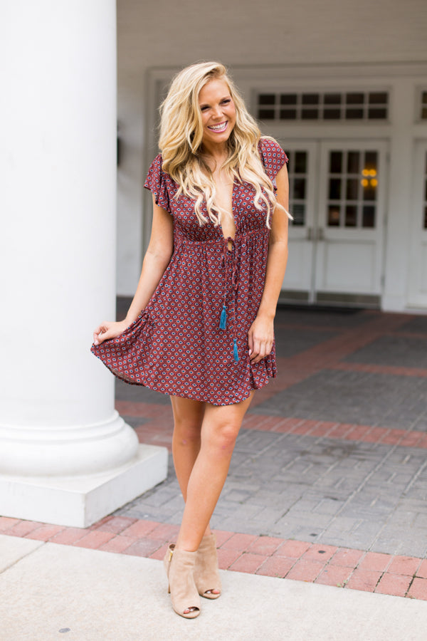 Bohemian Lifestyle Dress