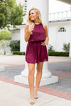 Feel The Flow Dress- Burgundy