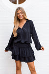 Holiday In The City Dress - Black