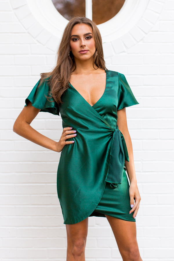 Christmas Wishes Dress - Jade