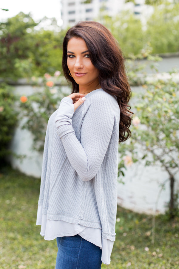 Grey Area Sweater