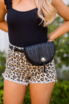 Festival Ready Belt Bag- Black