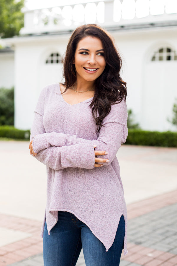 Lovin' On Lavender Sweater