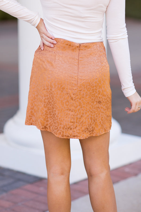 Cheetah Sister Skirt - Bronze
