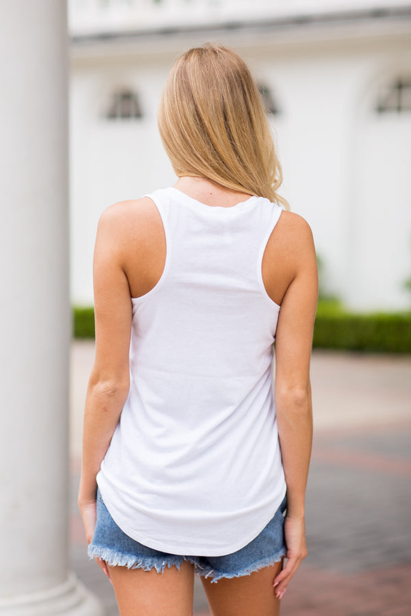 Z Supply Pocket Tank- White